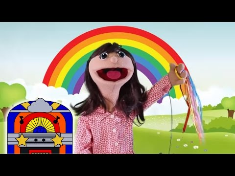 I Can Sing A Rainbow | Nursery Rhyme Song 🌈 | Learn Colors | Jenny's Jukebox Jam 🎸