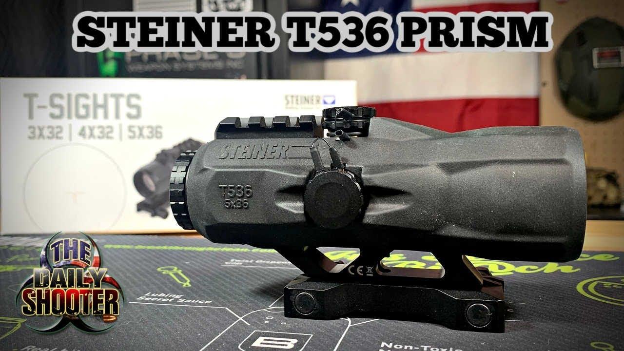 Steiner T536 Prism Sight 5x36 Prism Perfection