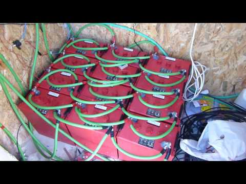 Off Grid – DIY – Home Solar Install – P4- Battery Bank