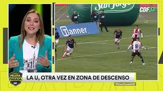 La U. de Chile sigue en zona de descenso