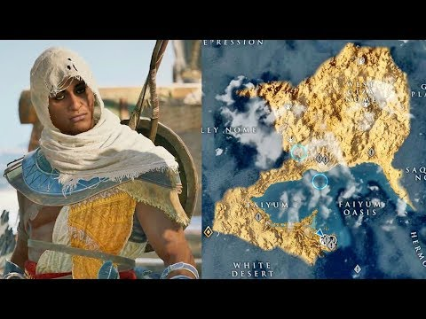 Thumbnail: Assassin's Creed Origins World Map is Huge!