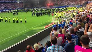RELEGATION CONFIRMED and Fans react w INSANE FIRE ESCALATION ● GERMAN Team Hamburger SV