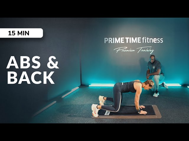 PRIME Session Abs & Back Workout