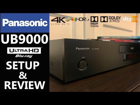 PANASONIC UB9000 4K Blu-ray Player Setup And Review