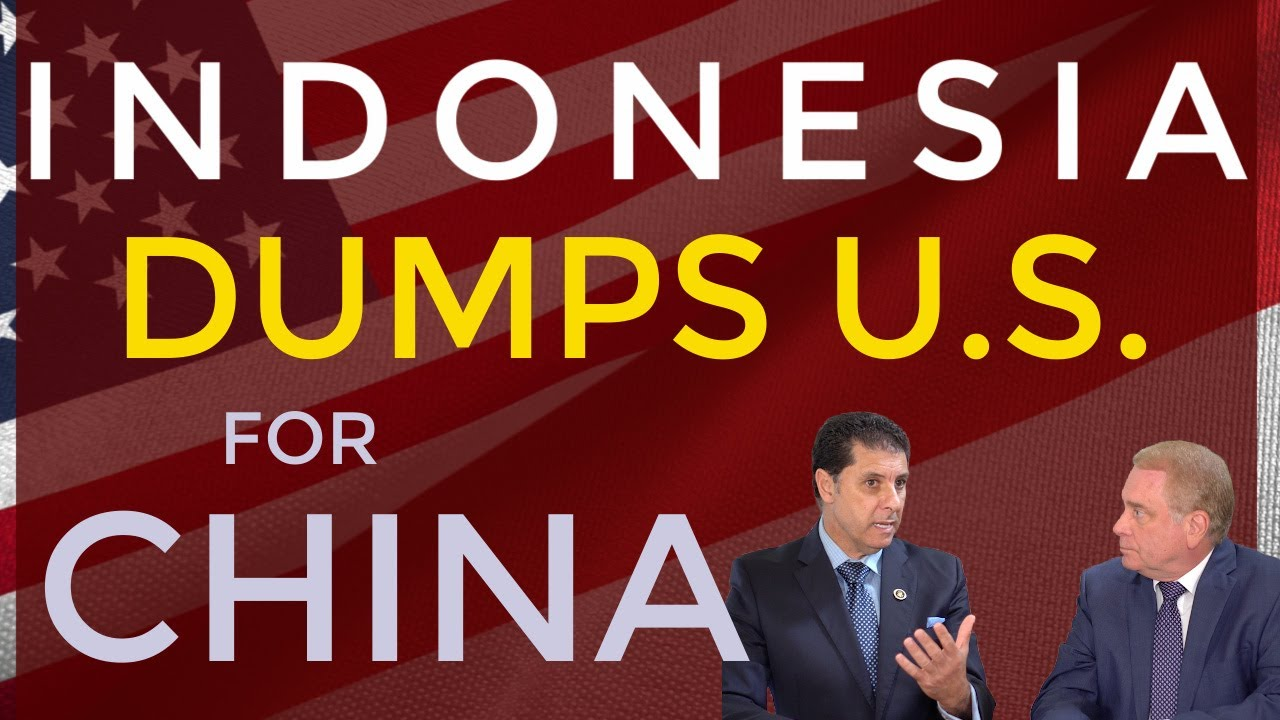 Is Indonesia Ditching the US for China???