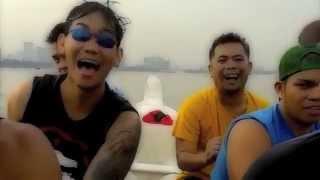 Manila Ocean Park Dragonboat Team practice. May 2014.