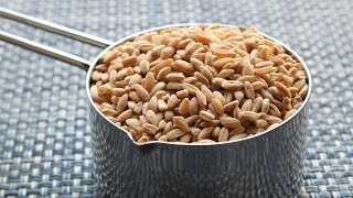 Farro With Wild Mushrooms Recipe - How To Cook Farro - Ancient Grain Side Dish