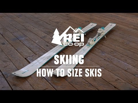Ski Sizing—What Size Skis Do I Need? || REI