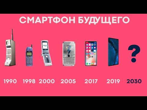 Какими будут смартфоны в 2030 году?