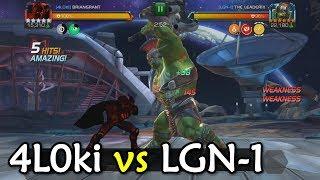 Alliance War: 4L0ki -vs- LGN-1 | Season 3, War 5 | Marvel Contest of Champions