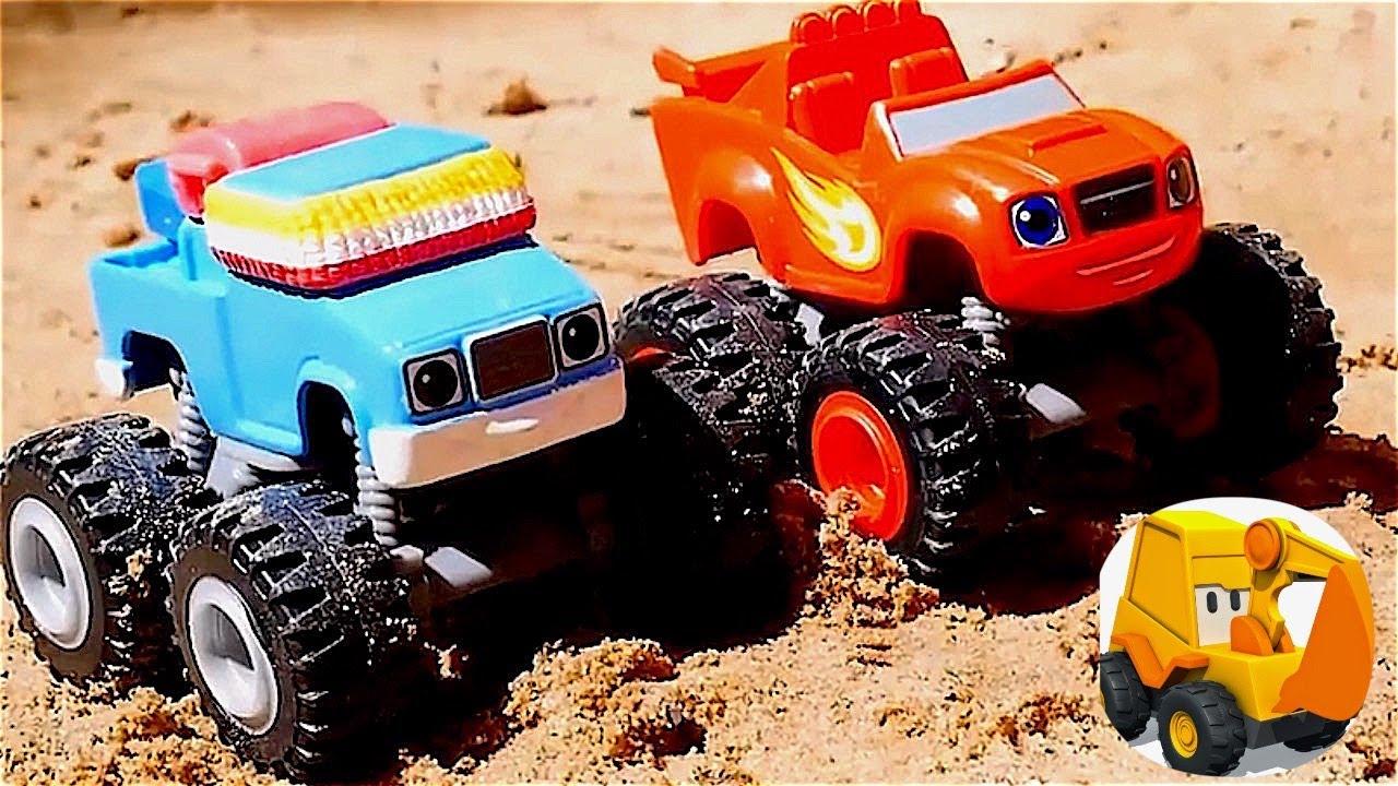 Carros En Venta >> Carritos - Figuras de arena en la playa - YouTube