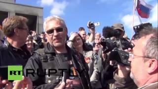 Slovakia: Russian Night Wolves bikers receive warm welcome in Bratislava