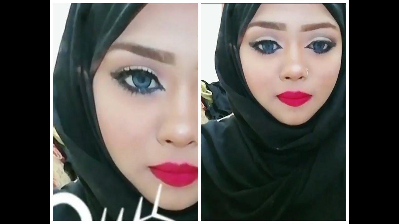 soft blue smokey eye makeup tutorial ayesha khan youtube
