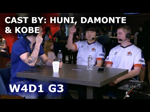 Huni, Damonte & Kobe cast: Clutch vs Golden Guardians (NA LCS Lounge) | W4D1 S8 NA LCS Summer 2018