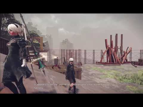 NieR: Automata - 9S Data Analysis Freak + Improving Communications Quest