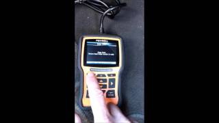 Fault codes and special functions on a Hyundai Tucson with a Foxwell NT510 Scan Tool