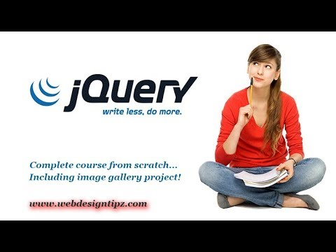Jquery tutorial for beginners - jquery effects (video-6)