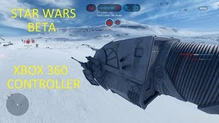 Star Wars Battlefront Beta Pc Gameplay - Close Match - Xbox 360 Controller