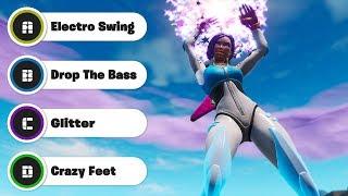 Guess The Fortnite Dance (Season 9)