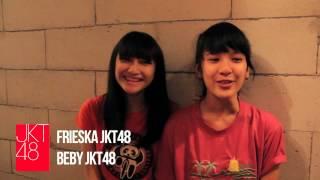 vuclip JKT48 member profile: Frieska+Beby