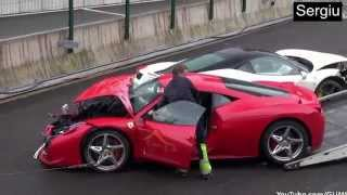 2015 ferrari crash big video compilation best of enzo fxx f430 458 maranello laferrari