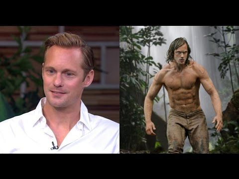 Alexander Skarsgard Talks 'Legend of Tarzan'