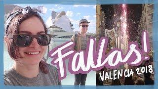 Fireworks & bonfires at Fallas! | Valencia 2018