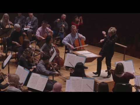 Baltimore Symphony Orchestra Rehearses R. Strauss' Suite from Der Rosenkavalier