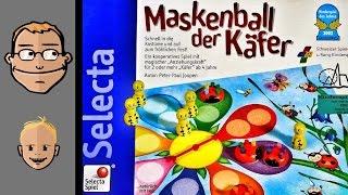 Maskenball der Käfer (Kinderspiel des Jahres 2002)  - Review