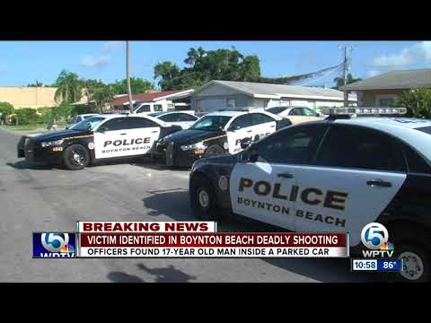 17-year-old boy found shot to death in Boynton Beach