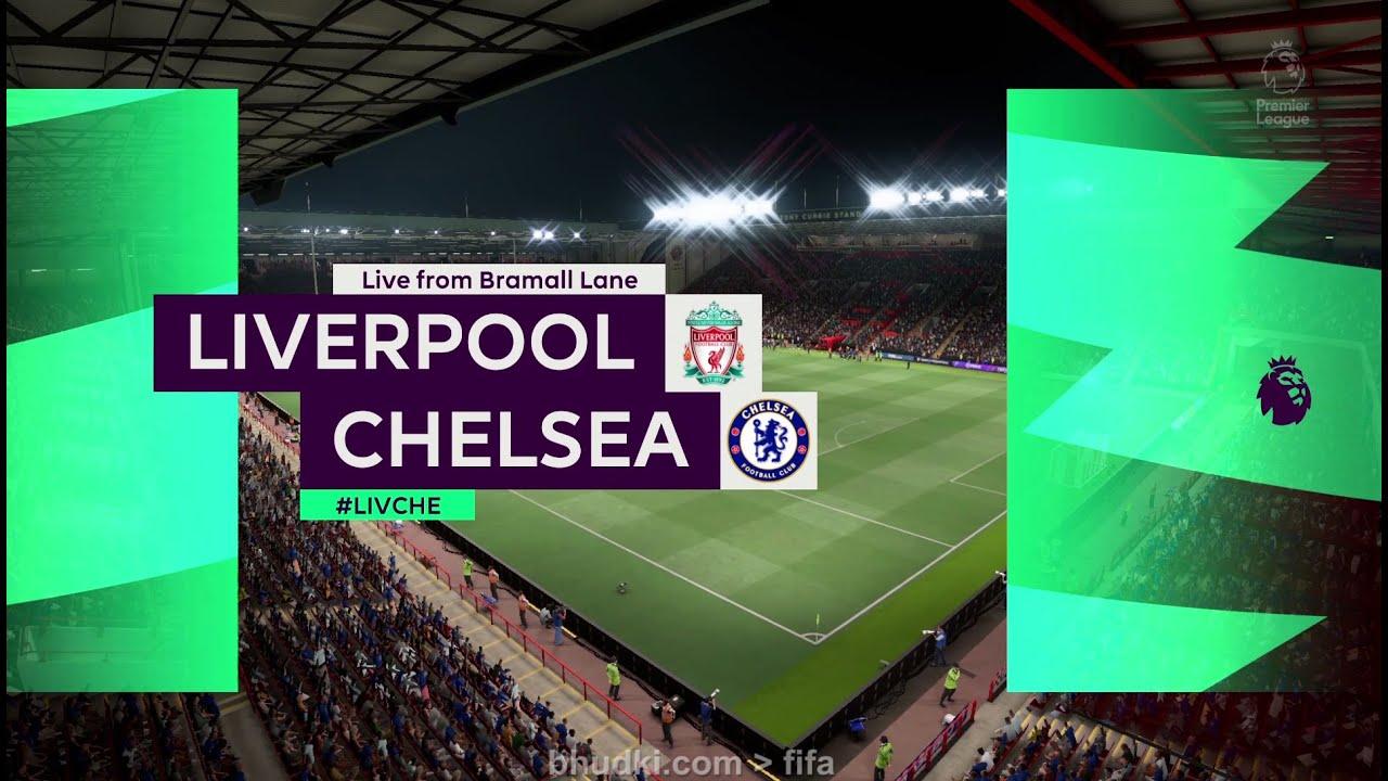 Fifa 21 : Liverpool vs Chelsea Gameplay || Premier League || BJ