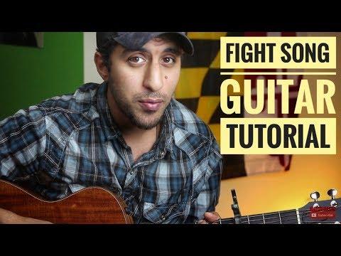 "Rachel Platten ""Fight Song"" Beginner's Guitar Tutorial"