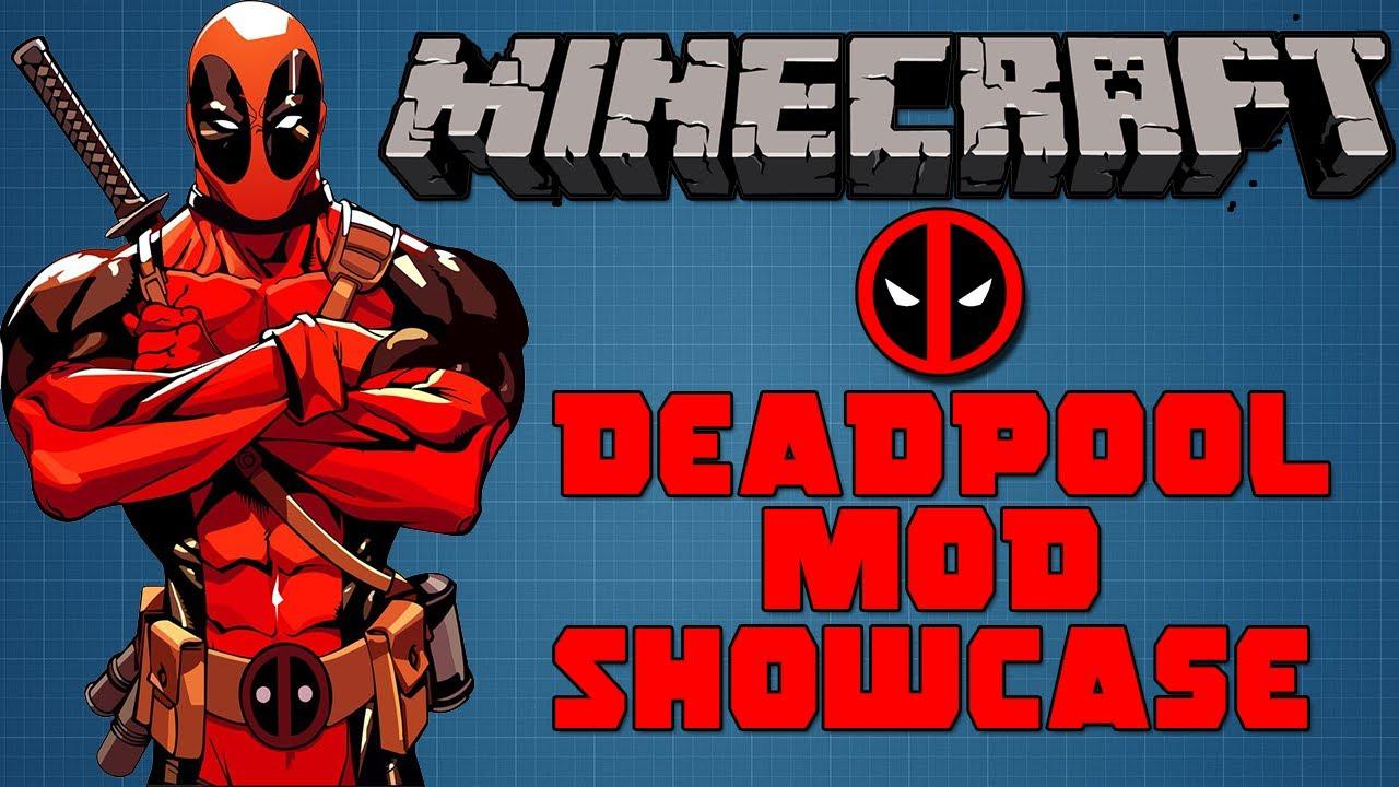 Скачать мод на deadpool в minecraft