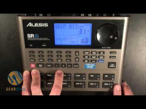 Alesis SR18: Non-Bank Breakin' Beats