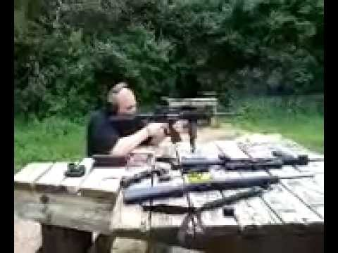 Shooting my cousin's AR-15 at Princeton, IA public range