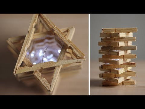 diy-clothespin-lamp---how-to-make-a-star-lamp-with-recycled-clothespins-|-recycled-&-upcycled-crafts
