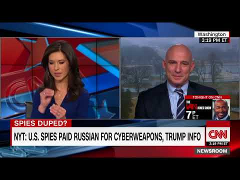 NY Times Says U.S. Spies Paid Russian Who Promised Cyberweapons, Trump Intel