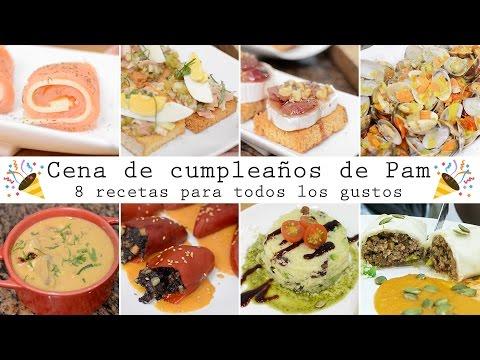 Cena De Cumpleaños De Pam 8 Recetas Para Todos Los Gustos