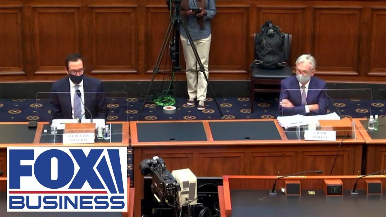 Treasury Secretary Mnuchin, Fed Chair Powell testify before House
