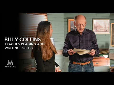 Billy Collins Teaches Poetry in a New Online Course
