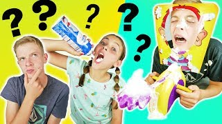 Who Knows Me Better? Brother vs Brother PIE FACE CHALLENGE Kids Cooking and Crafts