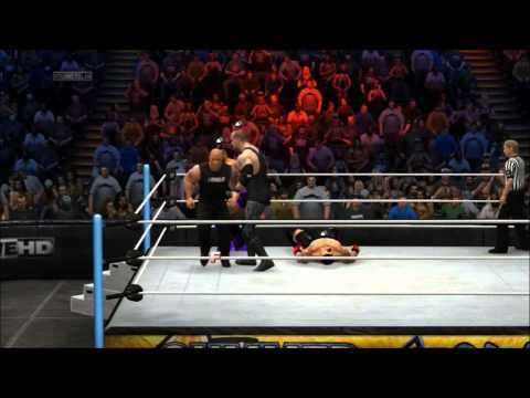 WWE2k14 Online: oX-XI-H34T-IX-Xo & MarkeiesWomble12 vs ScaryAnima2002 & Tarji2001 (PS3)