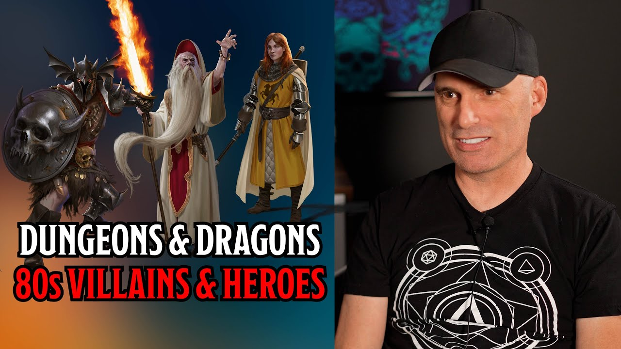 D&D's 80s Villains and Heroes Return | Chris Perkins | Wild Beyond The Witchlight