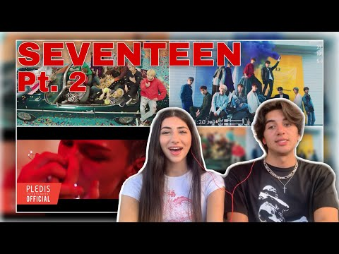 FIRST REACTION TO SEVENTEEN Pt.2!! (CLAP, HIT, FEAR)