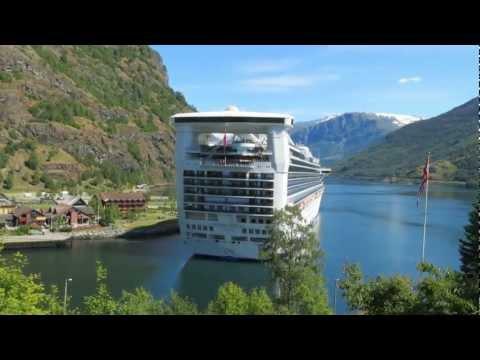 Norway - City of Flam