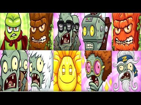 Plants vs. Zombies: Garden Warfare 2 : All 10 Super Final Bosses (Super Wave): Gardan Ops-Gameplay