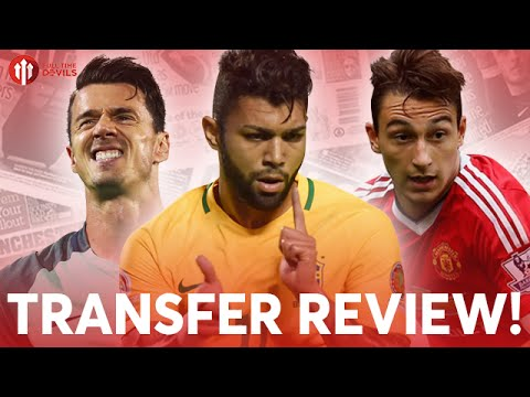 Gabriel Barbosa, José Fonte, Darmian and More! | Manchester United Transfer News Review!