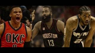 NBA | Harden vs. Westbrook vs. Kawhi | 2017 MVP Finalists Mix ᴴᴰ