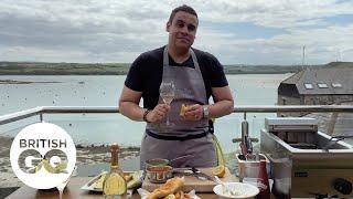 GQ's Food & Drink Masterclass: Paul Ainsworth's fish'n'chips   British GQ