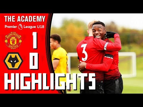 U18s Highlights | Manchester United 1-0 Wolverhampton Wanderers | The Academy